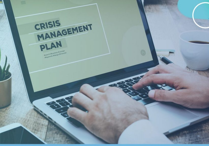 Crisis management blog header
