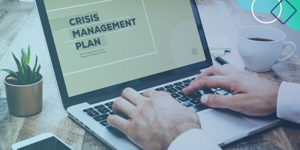 Crisis management blog header